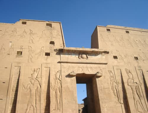 Hours Temple in Edfu